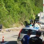 Saobraćajna nesreća na putu Kokin Brod - Nova Varoš