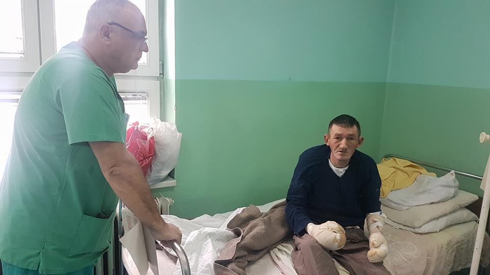 Prijepolje: Usled smrzotina četiri pacijenta zbinuta na hirurgiji