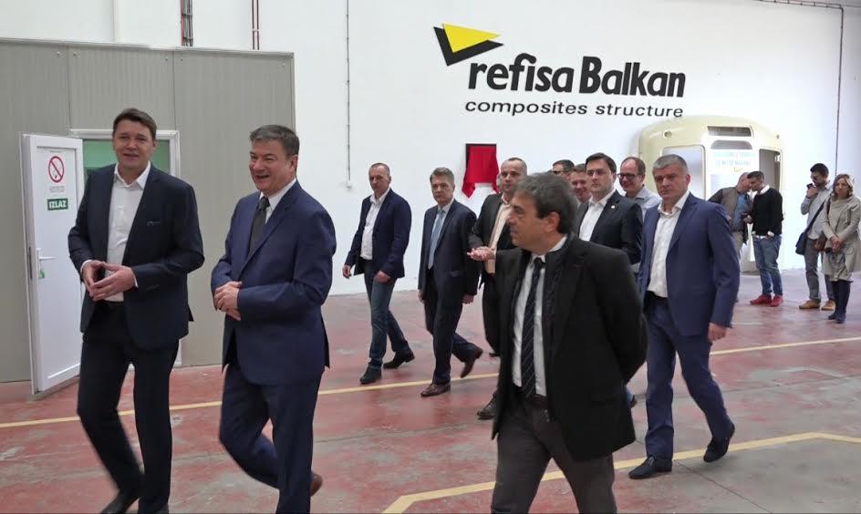Priboj: Refisa otvorila proizvodni pogon u Slobodnoj zoni
