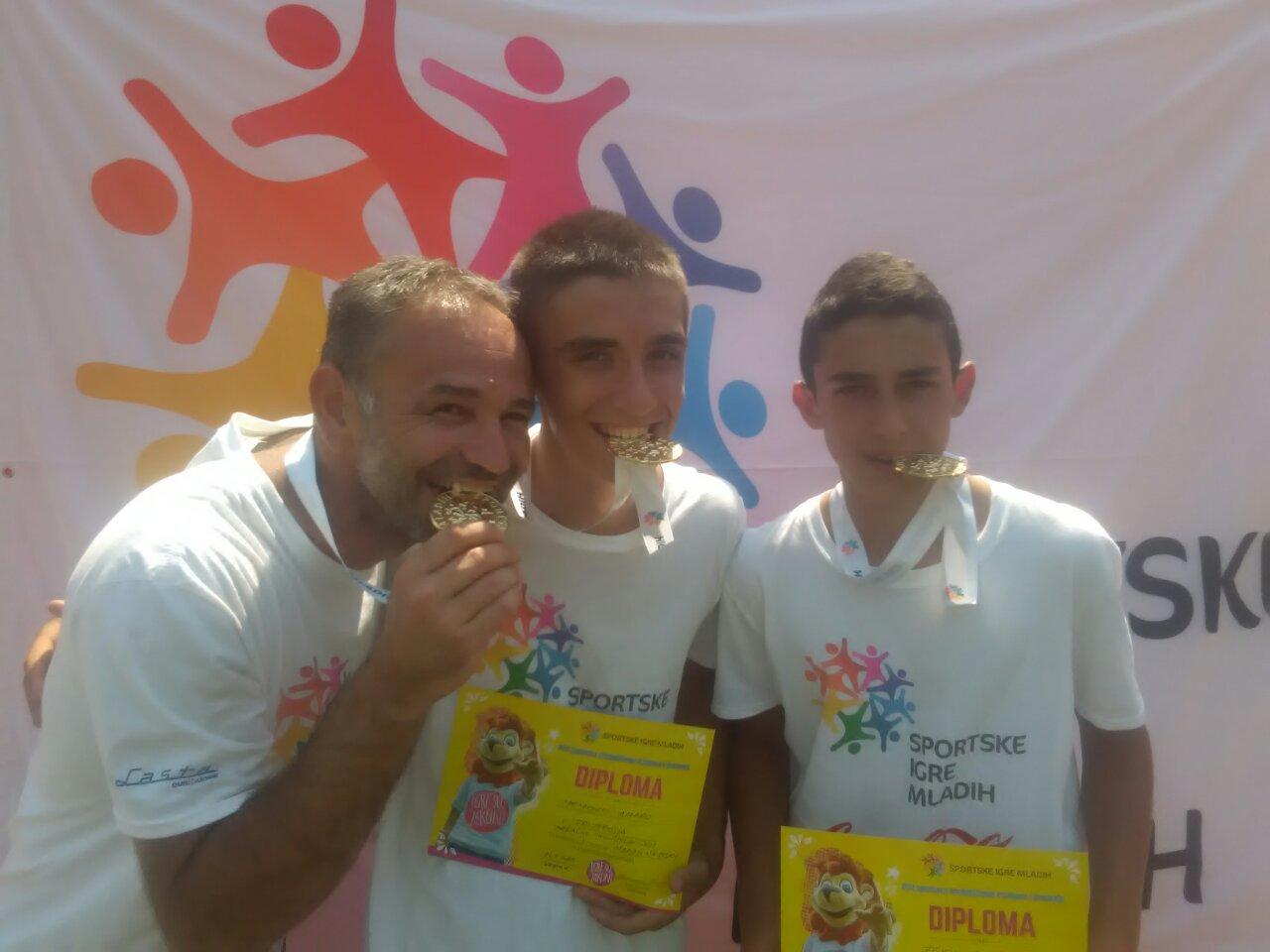 Amar Memović i Omar Zekić predstavljaće Srbiju u bič voleju na finalu Sportskih igara mladih u Splitu