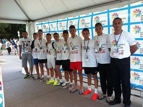 Dečaci Prijepolja učesnici Sportskig igara mladih