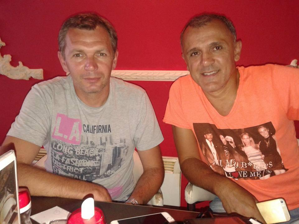 Dalibor Kurćubić i Ljubinko Drulović