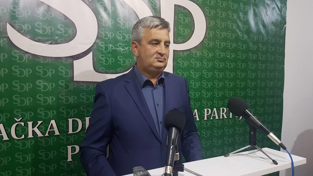 Esad Hodžić predsednik OO SDP Prijepolje, foto: www.ppmedia.rs