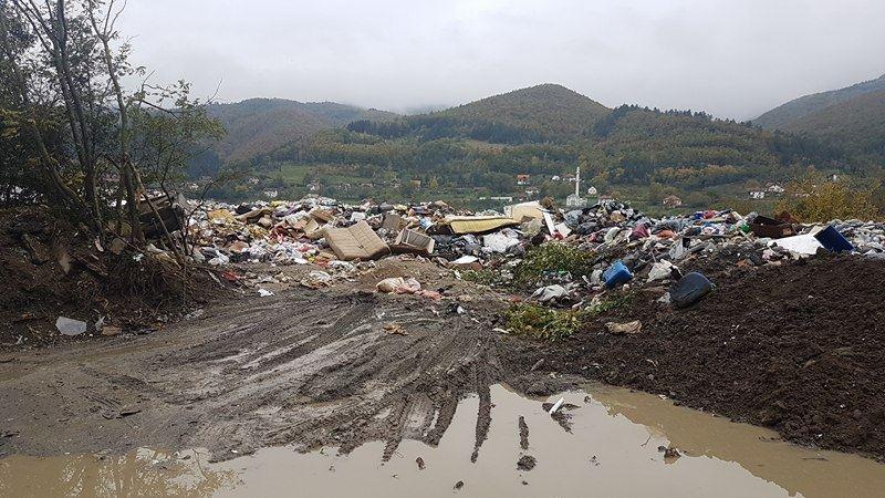 Deponija na ulasku u Prijepolje Stanjevine