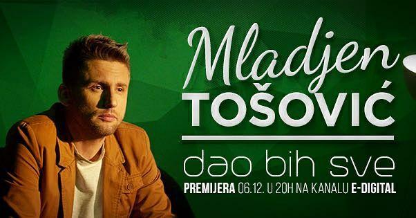 Mlađen Tošović, premijera nove pesme i spota u emisiji AMIG SHOW u utorak 06.12.2016. na tv Pink